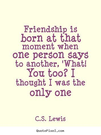 C.S. Lewis friendship